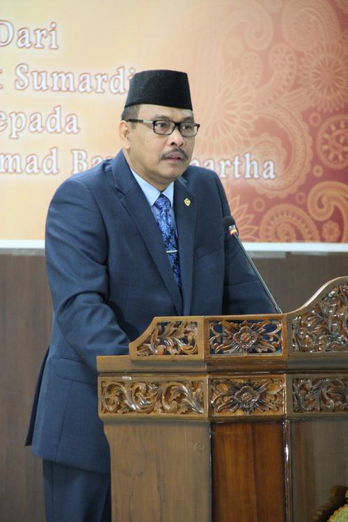 Sambutan Anggota VII BPK RI, Dr. H. Bahrullah Akbar